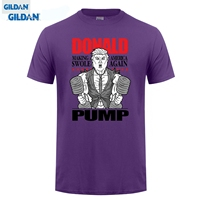 GILDAN Good Quality Brand Cotton Shirt Summer Style Cool Shirts Bro Science Men S Donald Pump
