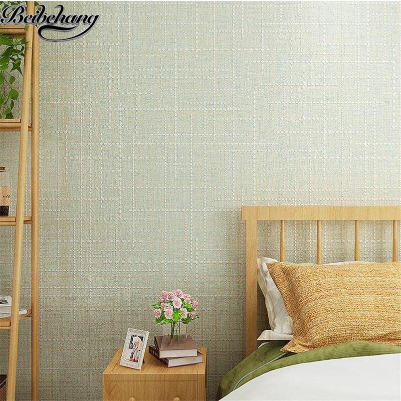 plain modern warm bedroom simple elegant living wall paper beibehang zoom wallpapers