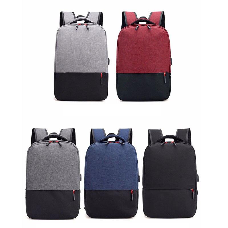 Sacs à dos d'ordinateur Portable légers en Nylon de charge d'usb sacs universitaires occasionnels sacs à dos de voyage pour les hommes femmes sac à dos unisexe Portable