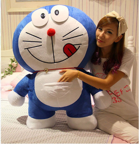 Christmas gift for Children Doraemon plush stuffed doll sleeping pillow toys kawaii Childhood birthday present hot sale 50cm the last airbender resource appa avatar stuffed plush doll toy x mas gift kawaii plush toys unicorn