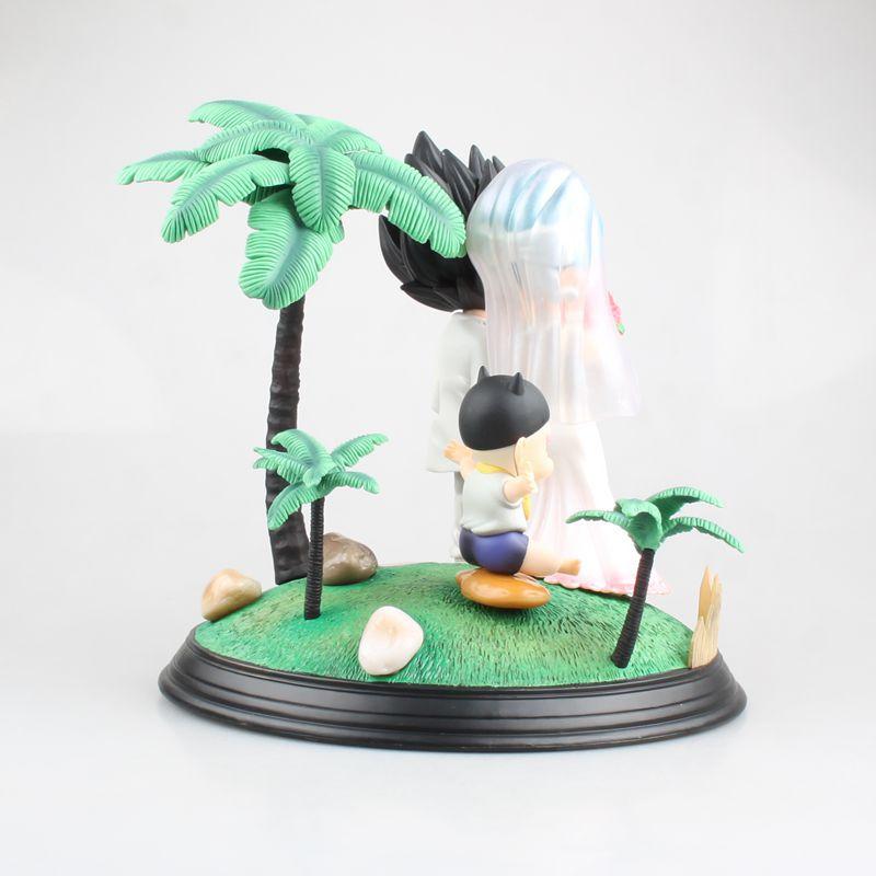 Комиксы Аниме Супер Saiyan принц Вегета Bulma Свадьба День бурума трусы Дракон шар сцена фигурка игрушки лучший подарок - 5
