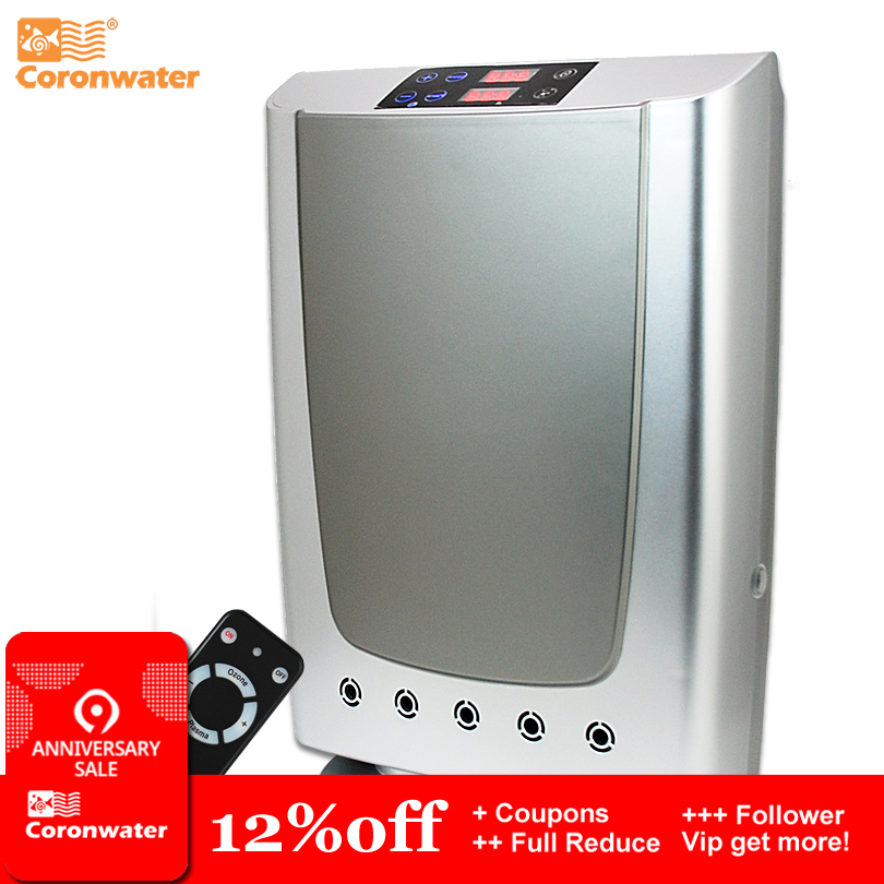 Coronwater Plasma og Ozone Air Purifier for Home / Office Air Purification og Vann Sterilization