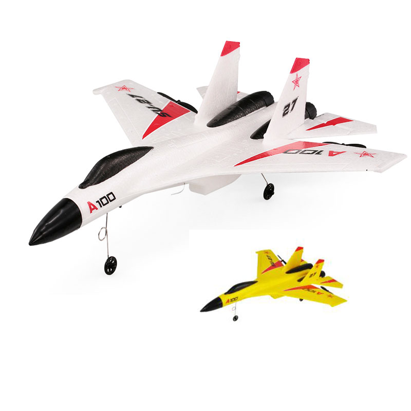Aircraft Model A100 RC Plane 2.4G 340mm 3CH Airplane Fixed Wing Planes Outdoor RC Toys Fly Remote Control Plane Children Gift image