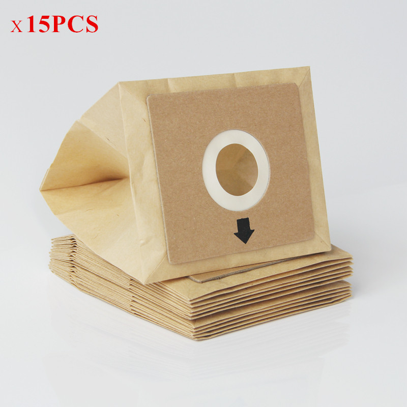15 Pcs General Vacuum cleaner dust paper bags 100*110mm Diameter 50mm Vacuum cleaner accessories parts general vacuum cleaner accessories motor vacuum cleaner for home vacuum cleaner parts
