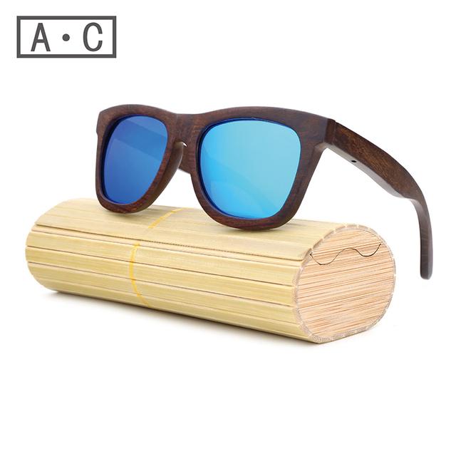 Homens Óculos de sol Óculos de Sol Da Moda Gafas óculos de sol De Madeira De Bambu de Madeira de madeira Óculos De Sol Das Mulheres Marca Designer Sports Oculos