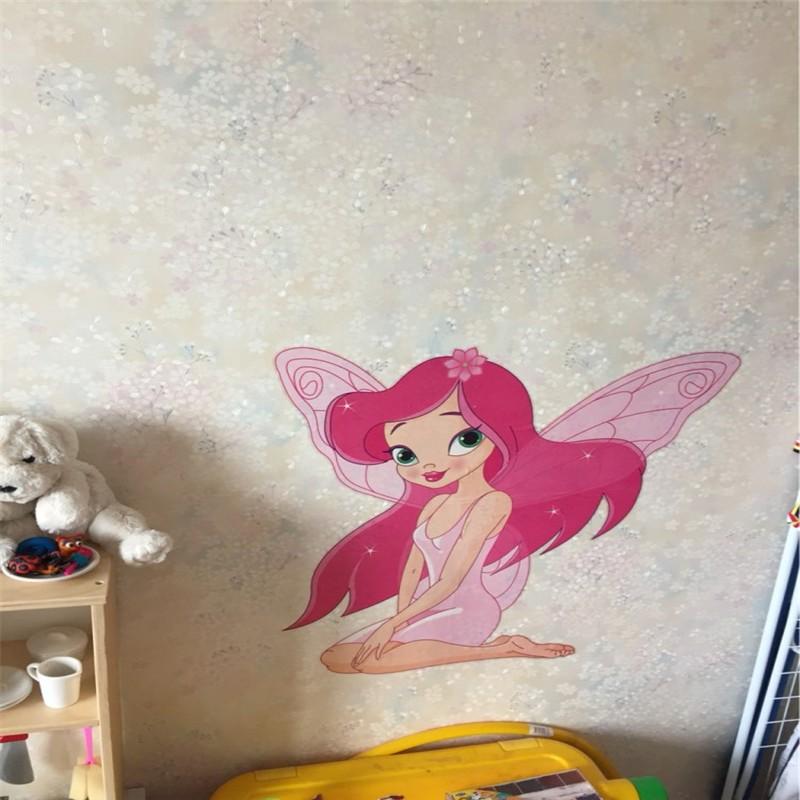 HTB1gMuNOFXXXXcwaXXXq6xXFXXXe - Fairy Princess Butterfly Wall Stickers-Free Shipping