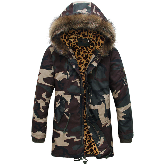 97Leoparden Mode SMW054 Camouflage Schnee Schnelles Camo Mäntel parka US39 Winter Männer Daunenjacken military Modemarke Verschiffen 2017 herren wPn08kO