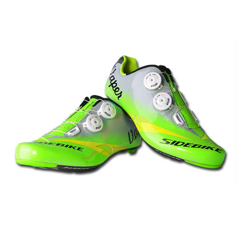 Road Cycling Shoes Bike Carbono Bicycle Shoes Cycling Sidebike Wearable Carbon Road Bike Shoes Ciclismo US7.5-12 RD03