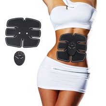 Muscle Stimulator Body Slimming Shaper Machine EMS Massage Stimulator Electric Muscle Training Abdominal Loss Exercise Fitness все цены