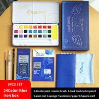 24color blue box