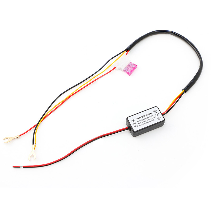 Car LED Daytime Running Light Relay Harness DRL ControlL