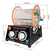 Емкость 3 кг роторный стакан полировальная машина Ювелирные изделия полировщик роторная отделка