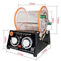Free Shipping capacity 3kg Rotary Tumbler polishing machine jewelry polisher rotary finishing