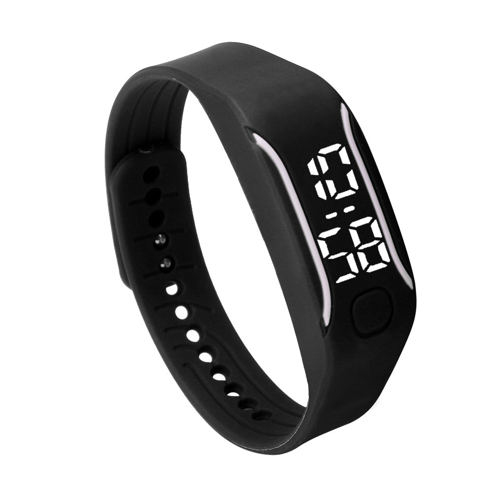Fashion LED Digital Sport Watches Silicone Rubber Running