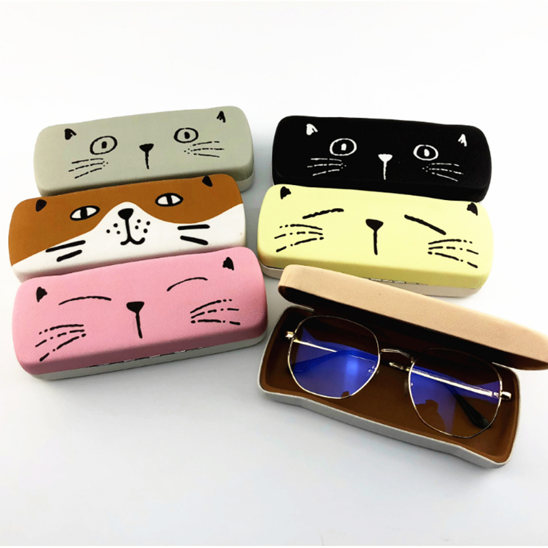 Apparel Accessories Eyewear Accessories Provided 6 Colors Available Spectacle Cases 1 Pc Protable Light Triangular Fold Glasses Case Eyeglass Sunglasses Protector Hard Box Modern And Elegant In Fashion