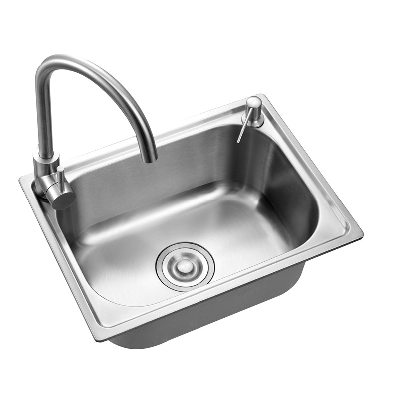 Us 72 87 Drawing Thickening Of 304 Stainless Steel Kitchen Sink Big Trough A Integrated Basins Sink Basin Meal Single Bowl In Kitchen Sinks From