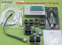 XNWY 100 Original V6 6 Minipro TL866A Usb Programmer 10 Items IC Adapters High Speed TL866