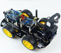 Robot On Wheels With A Video Camera Wi Fi For Arduino IOS Remote Control