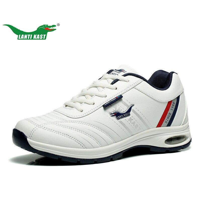 LANTI KAST Men Running Shoes Outdoor Atletica Lace Up Uomini Scarpe Sportive di Alta Qualità Ammortizzazione Traspirante Da Jogging Scarpa Da Tennis per Gli Uomini