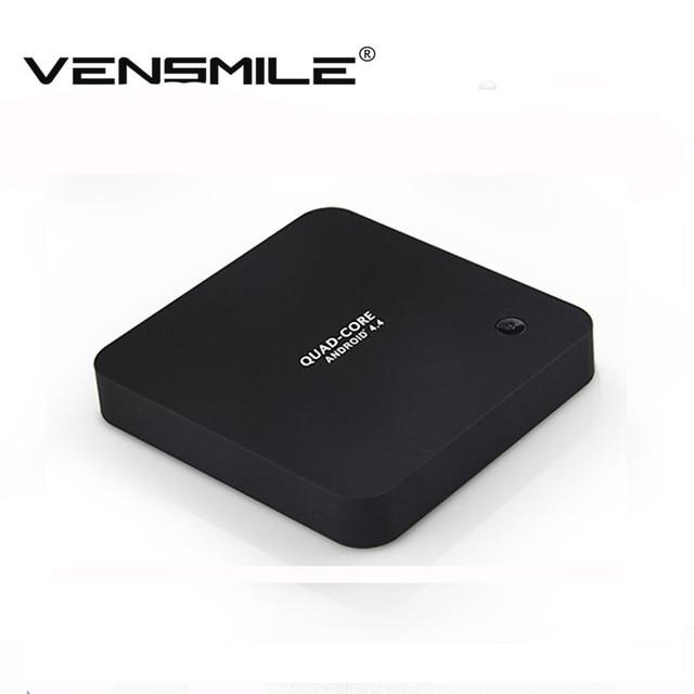 Vensmile Q8 плюс android-тв коробка RK3288 четырехъядерных процессоров смарт Box TV 2 ГБ + 8 ГБ XBMC 2.4 ГГц / 5 ГГц двойной wi-fi BT фильм 4 К * 2 К медиа тв-плеер