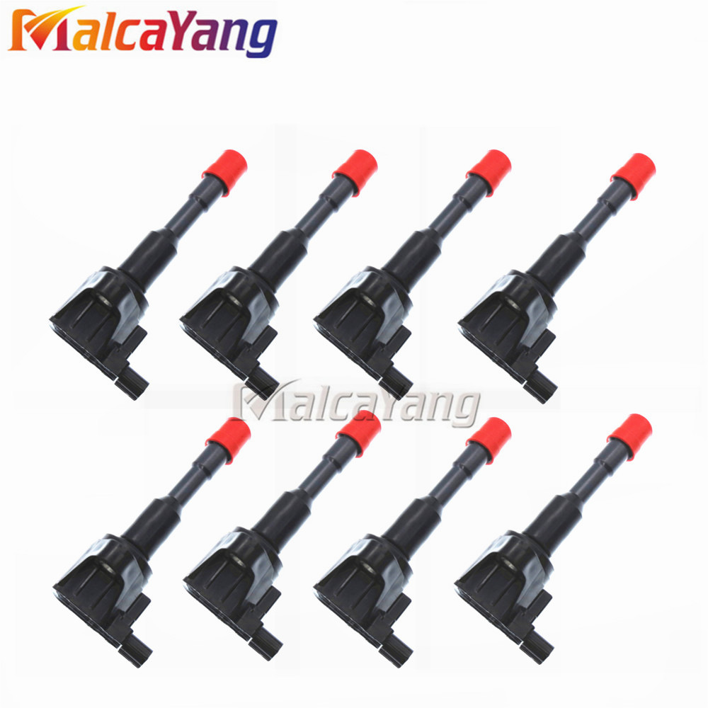 8PCS/LOT Ignition Coils 30520-PWA-003 30521-PWA-003 <font><b>30521PWA003</b></font> For Honda Civic 7 8 VII VIII JAZZ FIT 2 3 II III 1.2 1.3 1.4 image