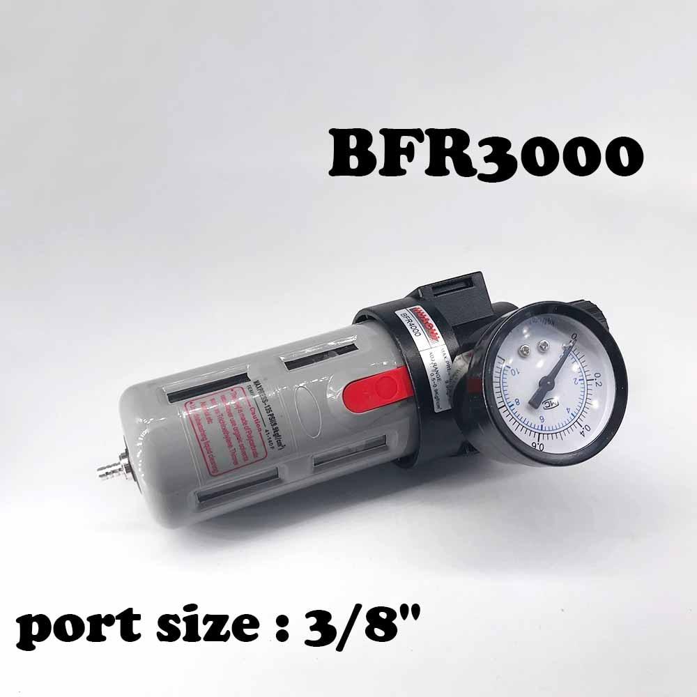 BFR3000 Air processor Free Shipping 3/8 Pneumatic Source Treatment Unit  , Air Filter Pressure Regulator air unit pneumatic source treatment g1 4 afc2000