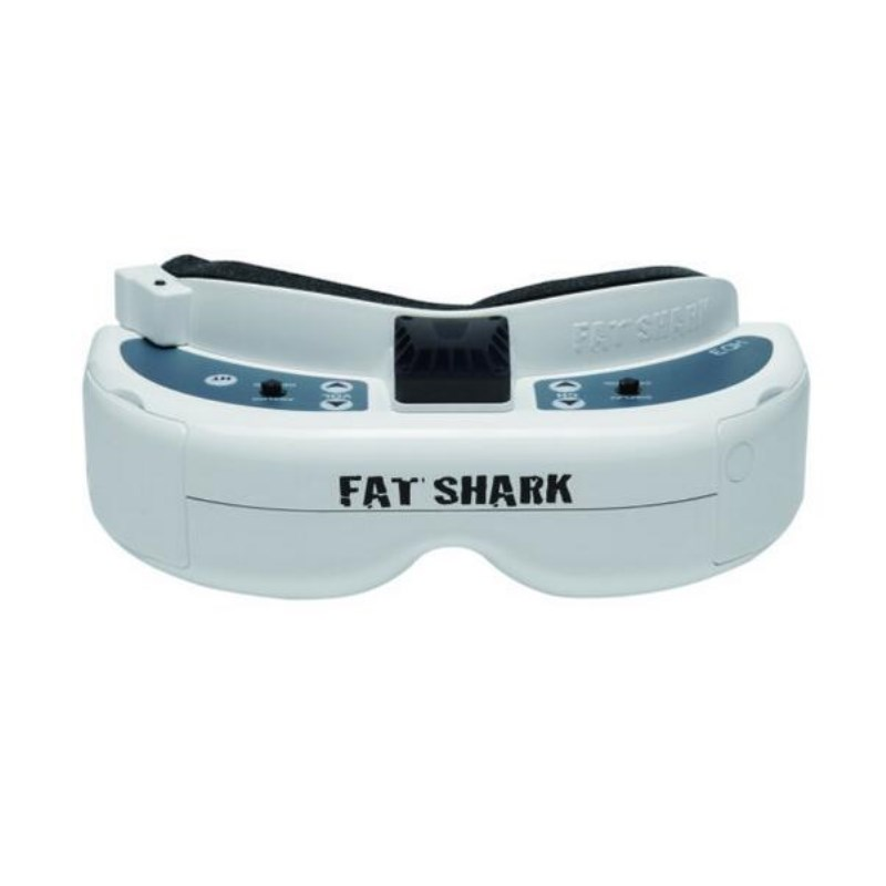 Fatshark FSV1076 Fat Shark Dominator HD3 HD V3 4: 3 FPV Goggles Auriculars per a video amb HDMI DVR