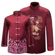 Chino tradicional ropa para hombres mujeres parejas traje regalo hombre  mujer tang traje de chaqueta traje 42c4def5c87