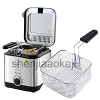 Mini Deep Fat Fryer Electric Fryer Smart Home Fryer Large Capacity Oil Free French Fries Machine