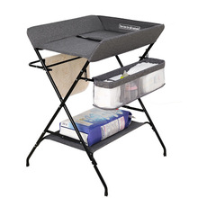 Стол для пеленок для новорожденных, массажный сенсорный стол для купания, пеленальный стол для младенцев, многофункциональная Легкая Складная станция для ухода