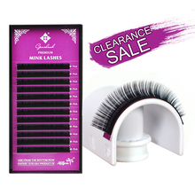 Genielash Big Sale individual eyelashes extension false volume eyelash extensions premium mink lashes professional makeup lashes mling 50 cases lot eyelashes extension for russian volume premium quality mink eyelash extension individual lashes extension