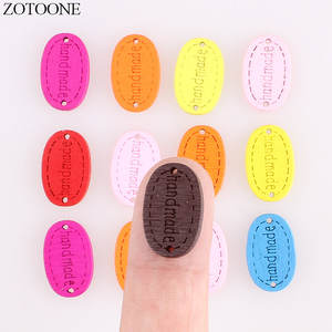 6f11c4a20cd ZOTOONE Wood Button Snap 100 Pcs Buttons For Clothing