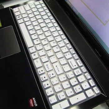 Teclado de silicona cubierta de Protector de la piel para Lenovo IdeaPad U510 S510P G585 G580 G570 G575 G505 G510 G500 G501 G700 B590 B5400