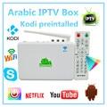 Mejor Caja del IPTV Árabe, Qnet VIVO Android 4.0 TV Box Set Top Box, 1 Años de Envío 400 Caja Más canales de TELEVISIÓN Árabe