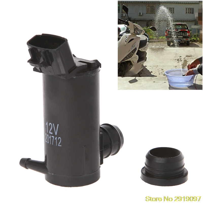 New High Pressure 12V 3.7A Water Pump Washer Car Glass High Power Wash Washing Pump Drop Shipping Support ...