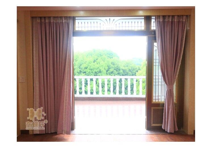 ჱModerne Linge Royal De Luxe Rideau pour Chambre Fenêtre Rideaux ...