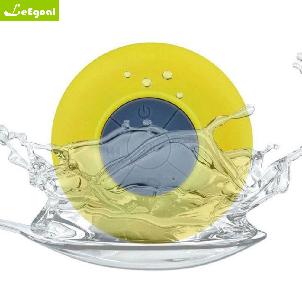 Mini Bluetooth Speaker Portable Waterproof Wireless Handsfree Speakers For Showers Bathroom Pool Car Beach Outdo