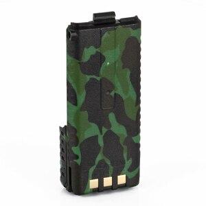 Image 4 - Baofeng UV 5R batterie de Camouflage talkie walkie BL 5 prolongée 3800 mAh 7.4 V Li ion batterie batterie Rechargeable pour Radio BF F8