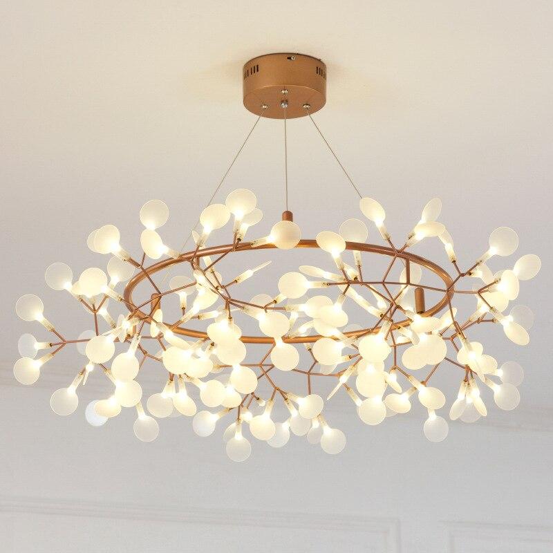 Moderno Pingente de Luz Levou Nordic Ramos de Acrílico Cozinha Sala de Jantar Designer de Luz Lâmpadas de Iluminação de Suspensão Industrial
