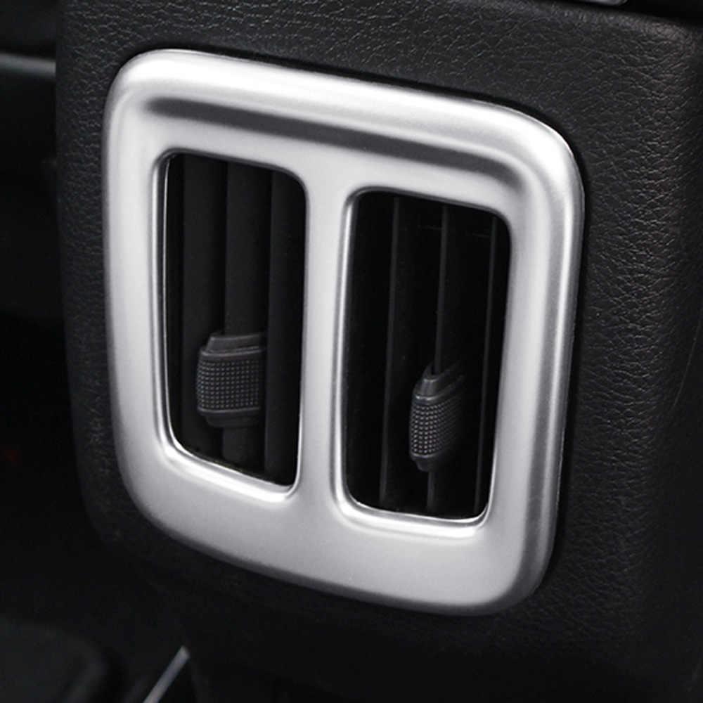 לג 'יפ מצפן 2017 2018 2019 מט אחורי מזגן Vent כיסוי AC לשקע מסגרת לקצץ רכב חיצוני פנים אבזרים
