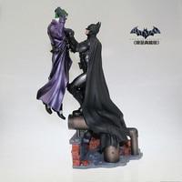 Темный рыцарь агама происхождения просителя модель Бэтмен против Джокера Роскошная статуя блистер коллекция фигурок H 32 см