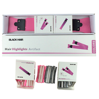 Professional Hair Coloring Tool Set Hair Dye Roll In 2 Paddle Roll Meches P 24 For