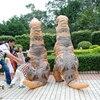 Inflatable Dinosaur T REX Costume For Adult Men Women Kids Jurassic World Park Blowup Halloween Party