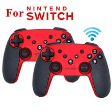 DSstyles Wireless Bluetooth Gamepad Game Joystick Controller with Somatosensory Vibration Screenshot Axis for Nintend Switch wireless bluetooth game controller for nintend switch gamepad joystick for moblie phone games joystick