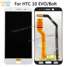 """5.5 """"ل HTC 10 EVO شاشة الكريستال السائل محول الأرقام بشاشة تعمل بلمس ل HTC 10 EVO الترباس اللمس قطع غيار الشاشة Evo 10 عرض"""