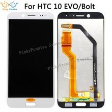 """5.5 """"dla HTC 10 EVO wyświetlacz LCD ekran dotykowy Digitizer dla HTC 10 EVO Bolt wymiana ekranu dotykowego części Evo 10 wyświetlacz"""