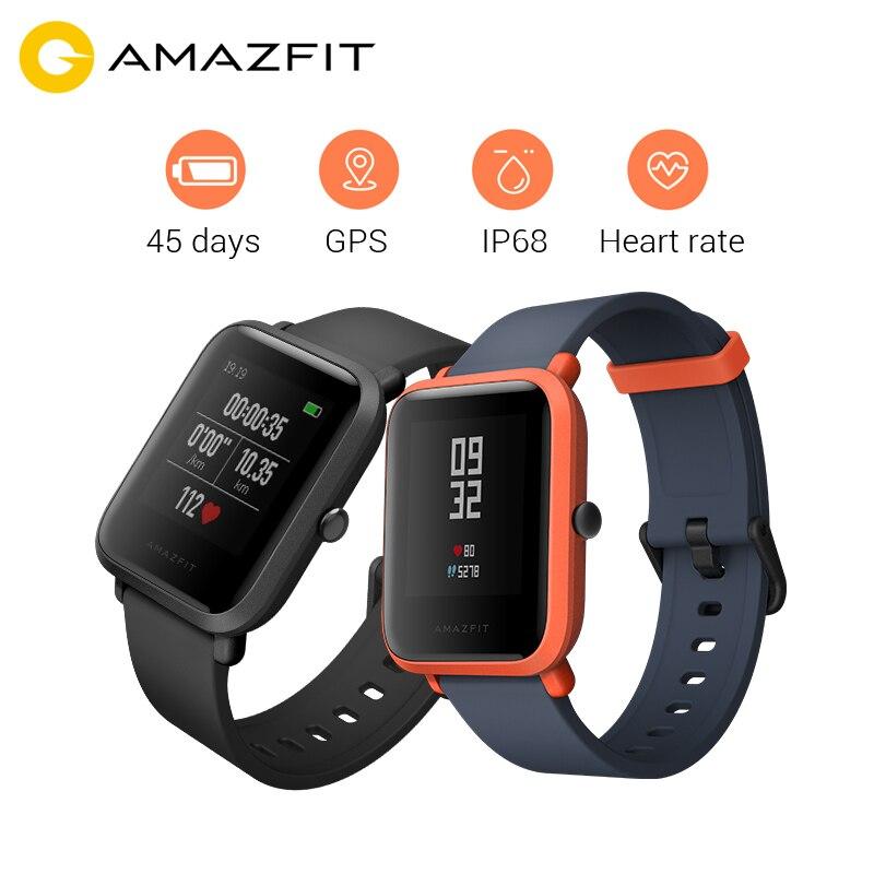 English Version HUAMI Amazfit Smart Watch Bip BIT PACE Lite 32g Ultra Light Screen 1