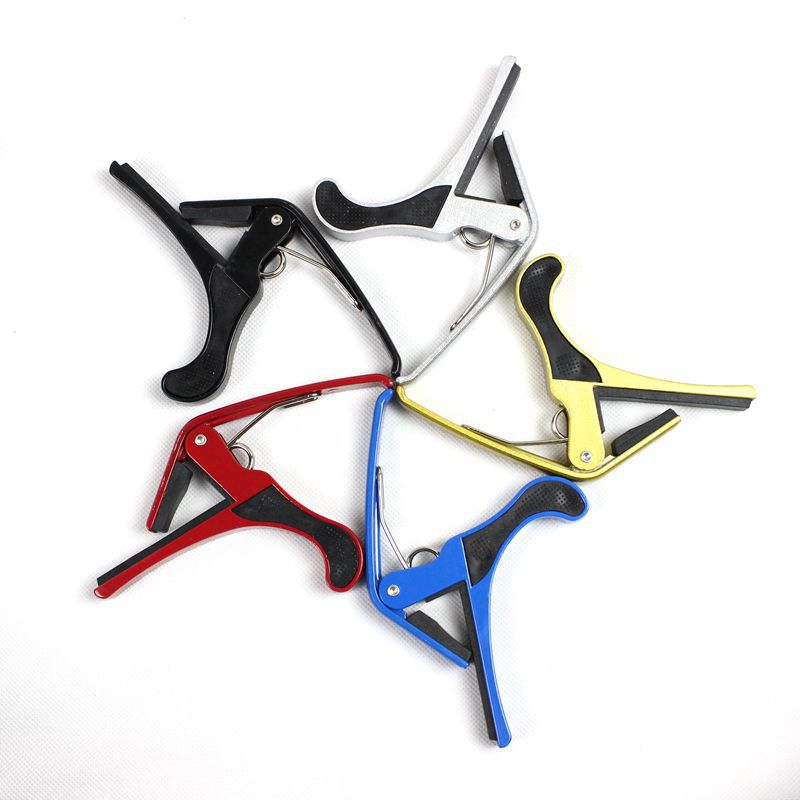New Arrival Guitar Jaw Capo Clamp for Electric and Acoustic Tuba Guitar Trigger Release free shipping bdj002  цены