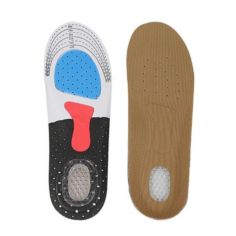 Unisex spor ayakkabı pedi koşu jel tabanlık yerleştirin yastık yumuşak astarı ayakkabı aksesuarları ayak bakımı araçları