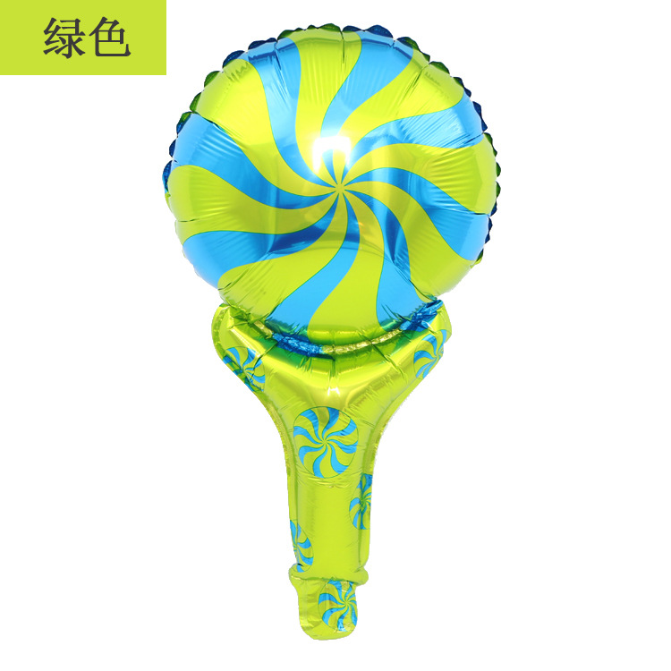 Decoration 48x28cm Lollipop Foil 10 Pieces Balloons Wedding Event Christmas Halloween Festival Birthday Party HY 246 in Ballons Accessories from Home Garden